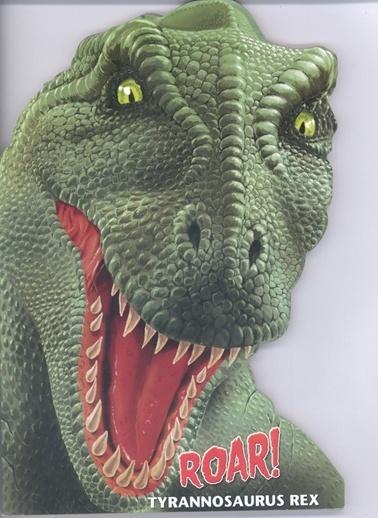 Çiçek Yayıncılık Şekilli Dinozorlar D.-Tyrannosaurus Rex Renkli